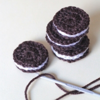 Cream Filled Biscuits - Crochet