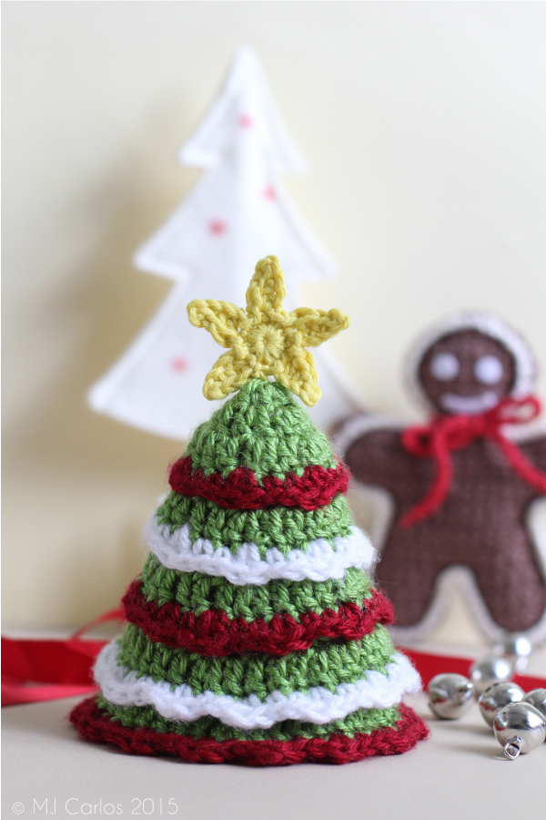 Free Crochet Pattern For Mini Christmas Tree : Christmas Tree ? Free Crochet Pattern
