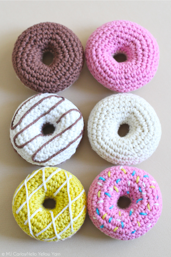 How To Crochet Donuts Free Pattern