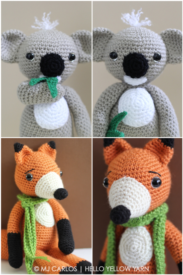 Finn-Mc-Fox-KC-Koala-Hello-Yellow-Yarn-Amigurumi-Pattern