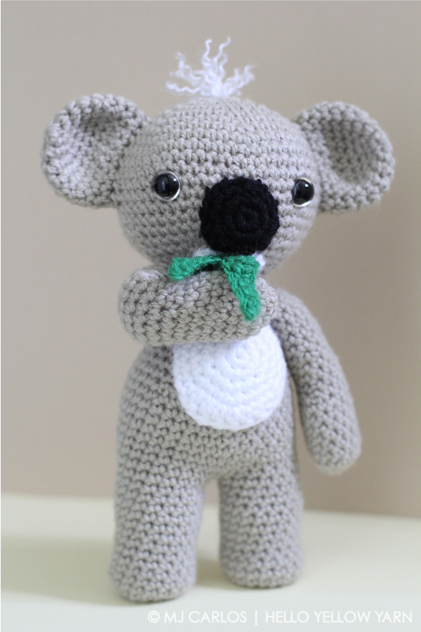 Amigurumi Koala Tutorial : KC Koala and Finn McFox Amigurumi Crochet Patterns