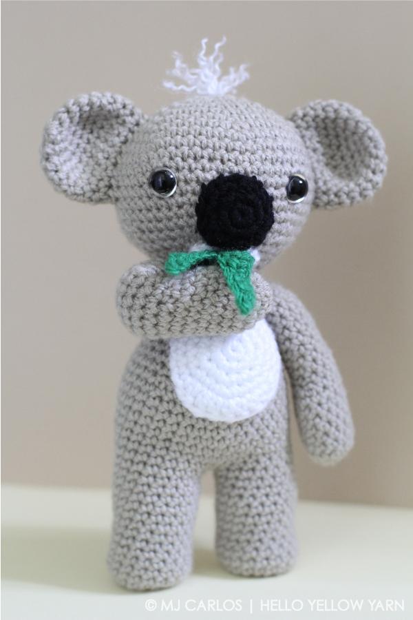 Llavero Koala Amigurumi : Projects Hello Yellow Yarn
