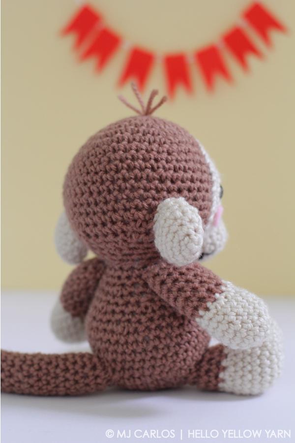 Momo The Baby Monkey Crochet Pattern