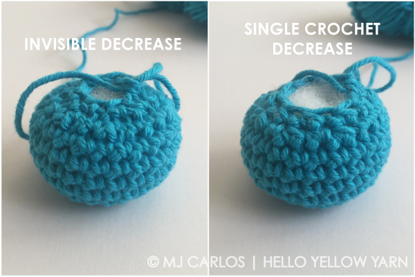 Tutorial invisible decrease in crochet the invisible decrease may take some getting used to but once you get the hang of it it will be the only decrease method youll want to do for your ccuart Images