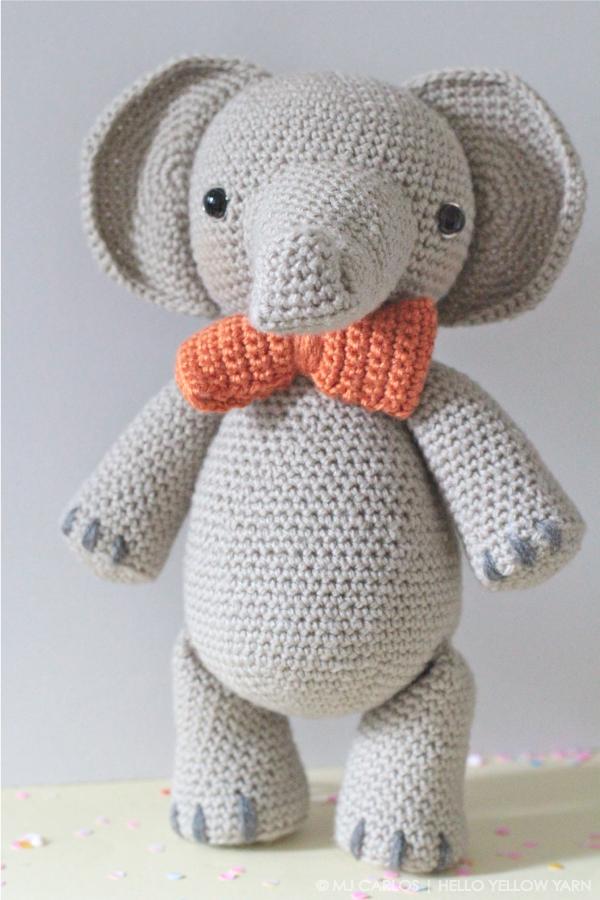Crochet Amigurumi Elephant