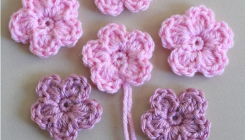 Crochet flower card for mothers day simple crochet flower pattern and tutorial dt1010fo
