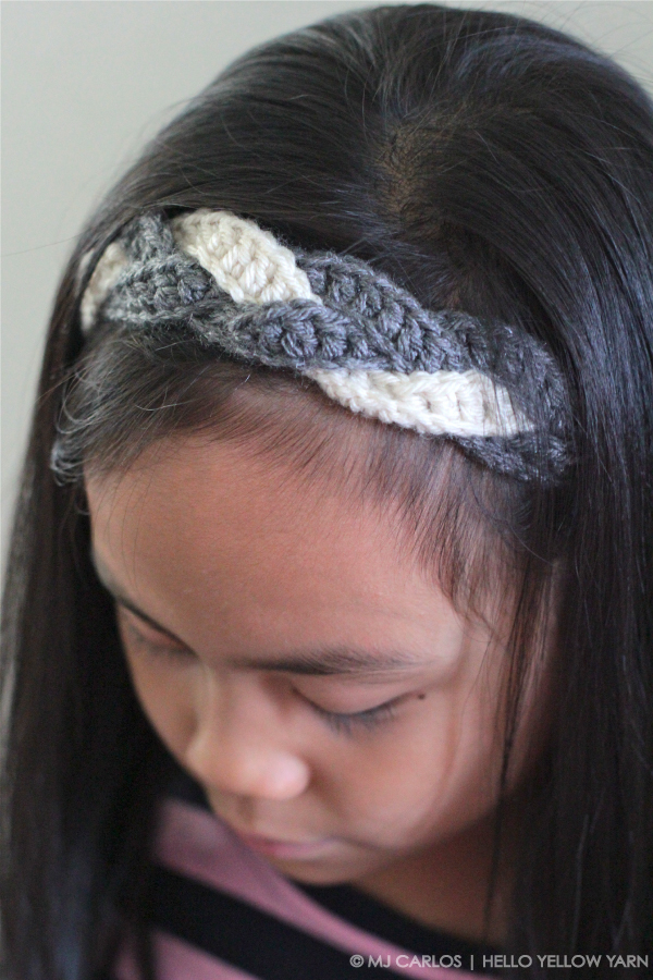 Crochet Braided Headband {Tutorial}