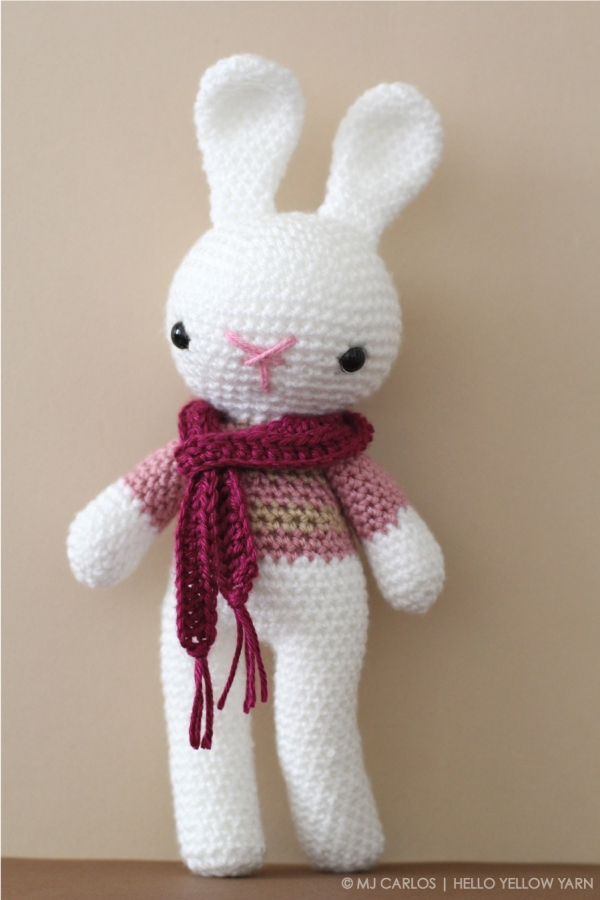 Amigurumi Rabbit : Hello Yellow Yarn CROCHET. CRAFTS. DIY PROJECTS.