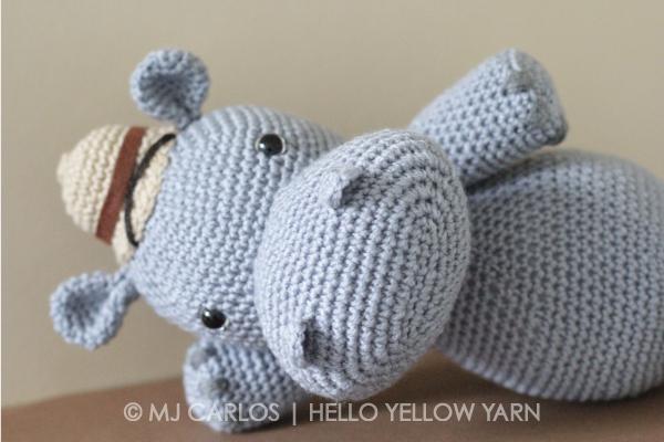 Free Amigurumi Hippo Pattern : Crochet amigurumi hippo u harvey hippo