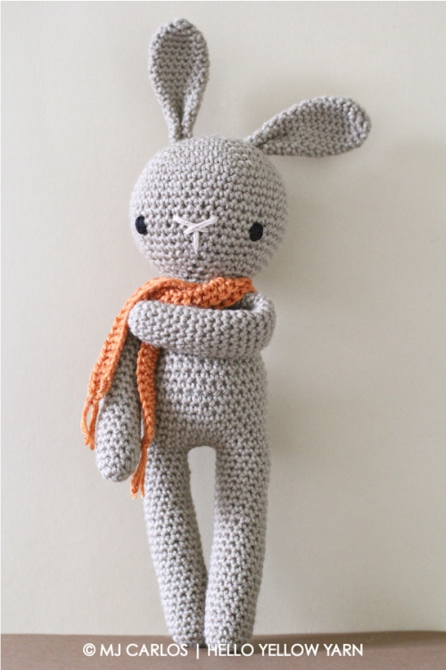 Amigurumi How To Decrease : Crochet Amigurumi Bunny