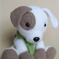 Crochet Amigurumi Puppy Dog - Jack Pup