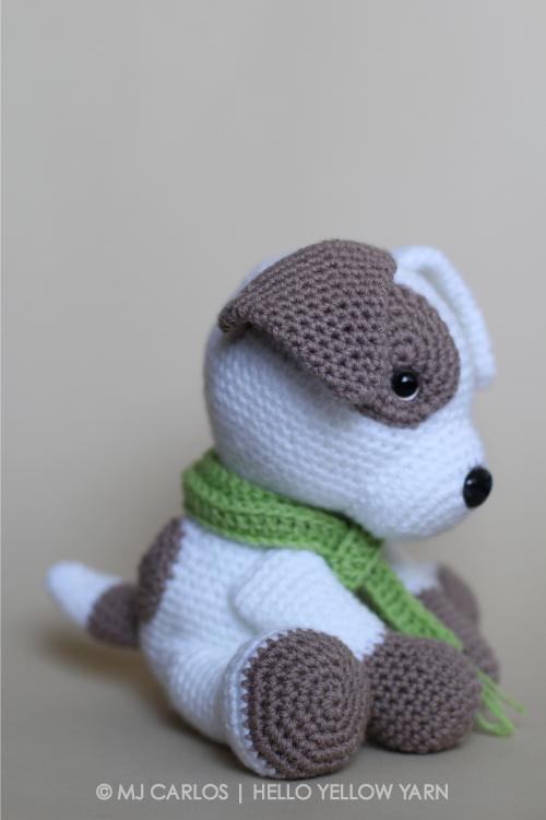 Crochet Amigurumi Puppy Dog – Jack Pup