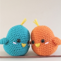 Lovebirds - Free Crochet Amigurumi Pattern