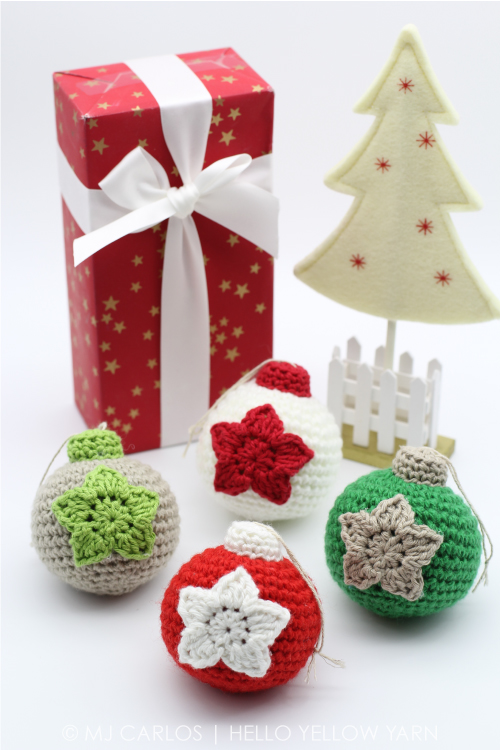 Free Crochet Pattern Christmas Bauble : Free Pattern Hello Yellow Yarn