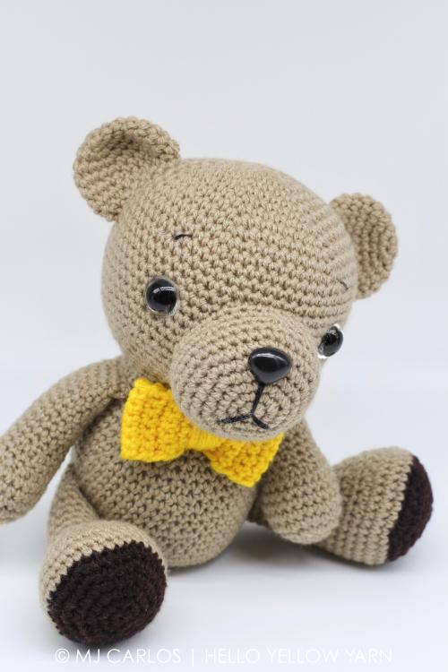 Amigurumi Yarn Ply : Crochet Amigurumi Woodland Baby Bear
