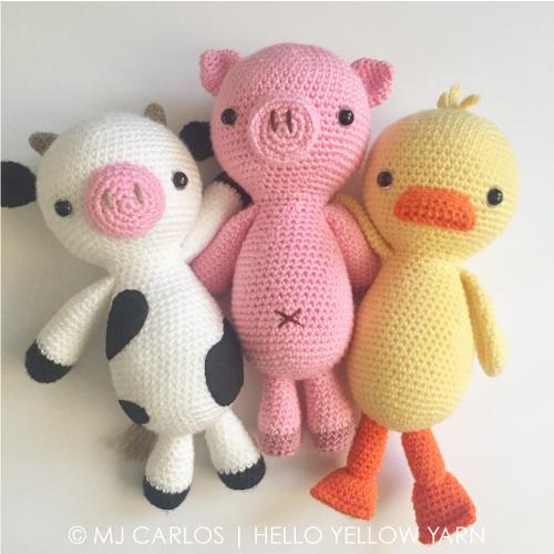 Amigurumi Pig : Amigurumi pug u pugster pup