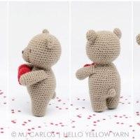 Little Valentine Bear - Free Amigurumi Pattern