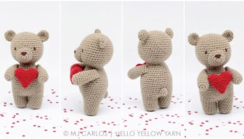 Amigurumi Free Patterns Bear : Amigurumi free patterns teddy bear: little muggles free pattern