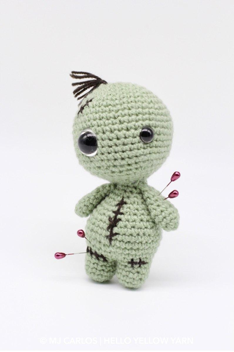 Owie the Voodoo Doll - Free Amigurumi Pattern